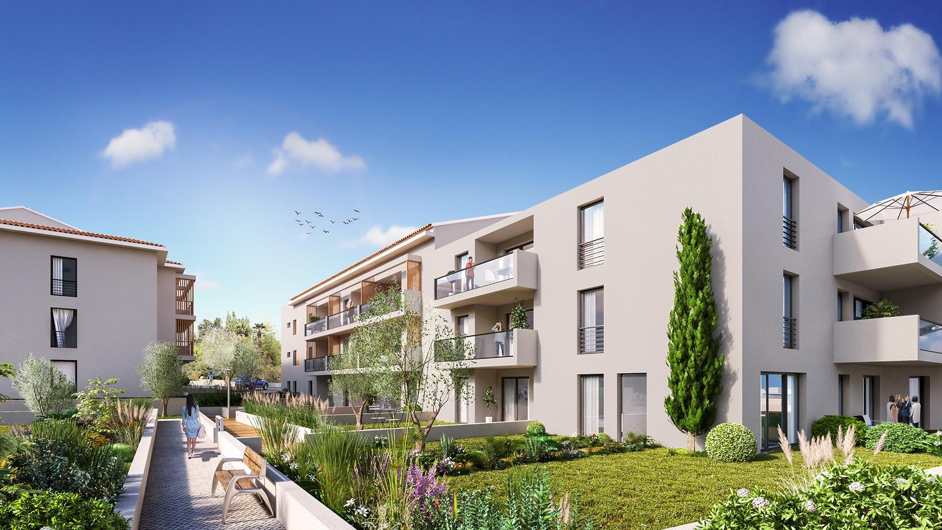 Jardin de So (Vue de jour) - Solliès Pont